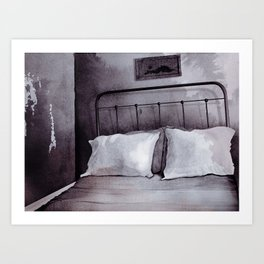 Rust Belt series - Bedroom Art Print