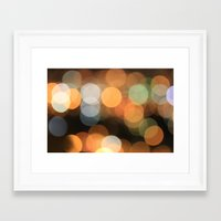 bokeh Framed Art Prints featuring bokeh by danielmisura