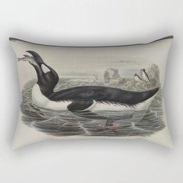 342 Alca impennis. Great Auk Rectangular Pillow