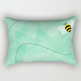 BUZZ OFF Rectangular Pillow