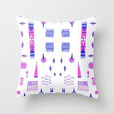Pompoko Throw Pillow