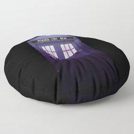 The Tardis Floor Pillow