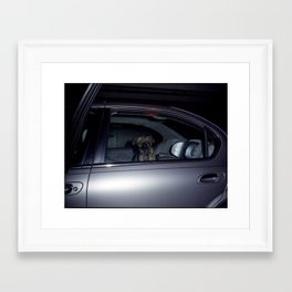 doggie Framed Art Print