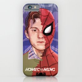 Spider-Man Homecoming Peter Parker iPhone Case
