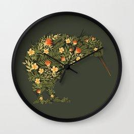 Kiwi Wall Clock