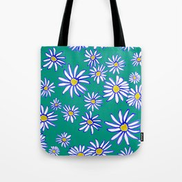 Daisy Florals Tote Bag