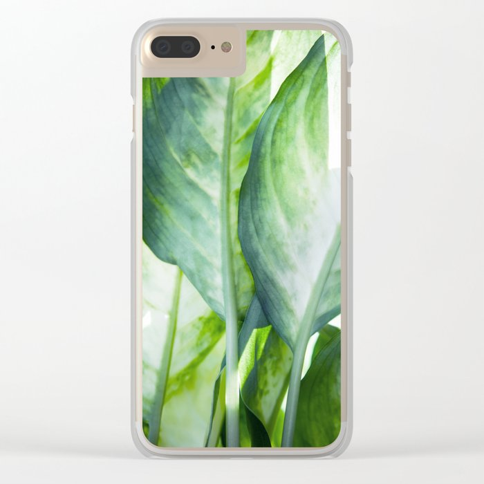 tropic abstract Clear iPhone Case