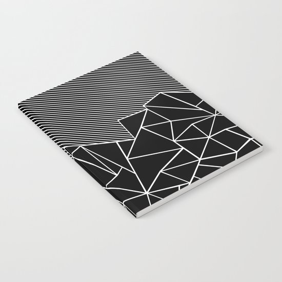 Ab Lines 45 Black Notebook