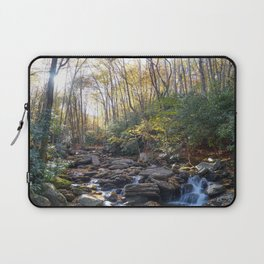 Boone Fork Creek in Autumn Laptop Sleeve