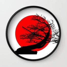 Bonsai Japan Wall Clock