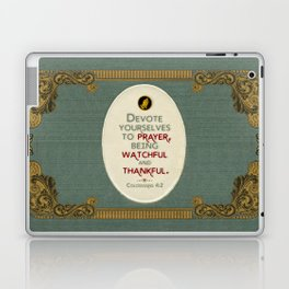 Prayer Laptop & iPad Skin