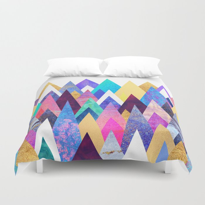 Enchanted Mountains Duvet Cover
