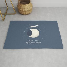 Over the Moon-icorn Rug