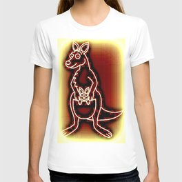 The Flying Kangaroo & It's Joey T-shirt
