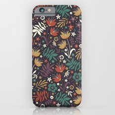 Midnight Florals iPhone 6s Slim Case