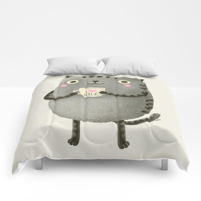 I♥milk Comforters