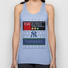 NYC Yankees Subway Unisex Tank Top