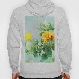 Yellow Safflower (Carthamus Tinctorius Yellow)  Hoody
