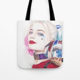 HARLEY BEAUTIFUL CRAZY QUINN! Tote Bag