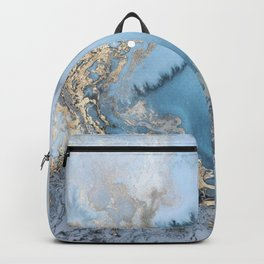 GOLD CLOUDS MARBLE Backpack