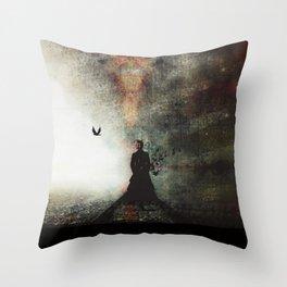 Saint Atropa Throw Pillow