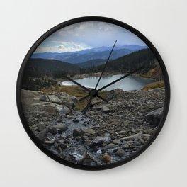 St. Mary's Glacier Wall Clock