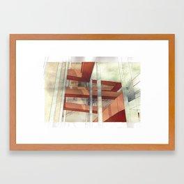 Architectural Fragment Perspective Framed Art Print