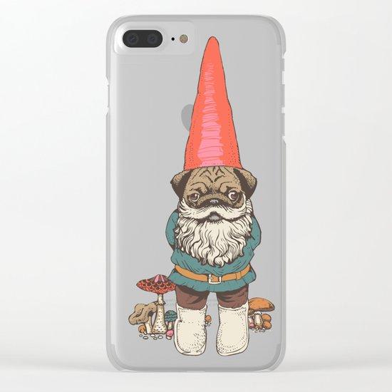 Pugnomie Clear iPhone Case