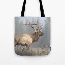 Bull Elk One Tote Bag