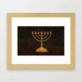 Exodus 37:17 Framed Art Print