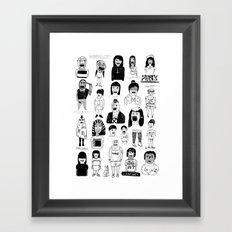 PEEPZ Framed Art Print