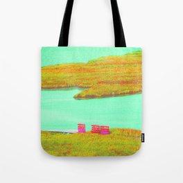 Outerbanks, NC sound and kayaks Tote Bag