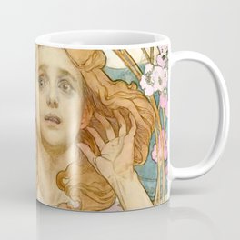 "Alphonse Mucha ""Maude Adams (1872–1953) as Joan of Arc"" Coffee Mug"