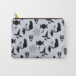 Creepy Cute Halloween Witch Design Carry-All Pouch