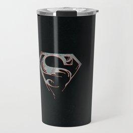 man of steel Travel Mug
