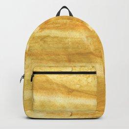 Sandy brown hand-drawn aquarelle Backpack