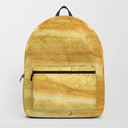 Sandy brown hand-drawn aquarelle Backpack