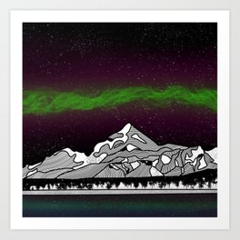 Mount Saint Elias Art Print
