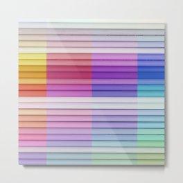 color bar Metal Print