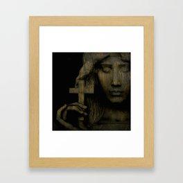 Give Me Love Give Me Peace On Earth Framed Art Print