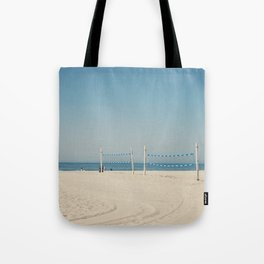 Hermosa Beach Volleyball Tote Bag