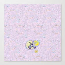 Tricycles Canvas Print