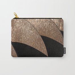 Rusted Disker Plow Light and Shadow Abstract Carry-All Pouch