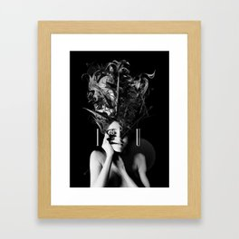 I / U Framed Art Print