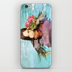 She Realized People Are Not Always What They Appear to Be iPhone & iPod Skin