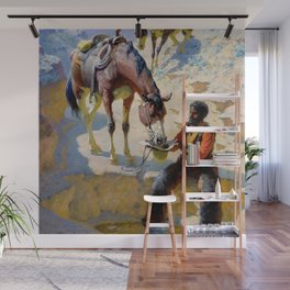"William Leigh Western Art ""One Good Turn"" Wall Mural"