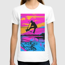 Lets Fly!  - Stunt Scooter T-shirt