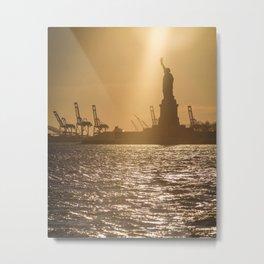 """Lady Liberty 2"" by Murray Bolesta Metal Print"