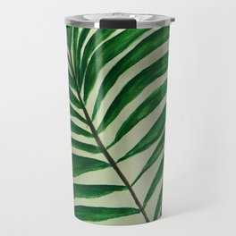 Palm Tree Art Travel Mug