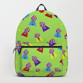Gumball Machines,small green Backpack
